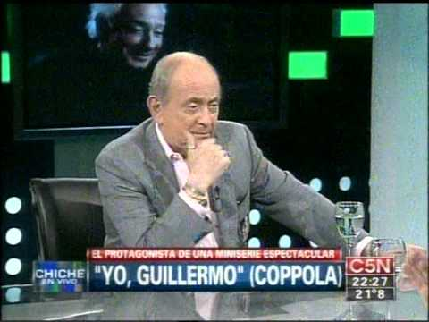 C5N - CHICHE EN VIVO: ENTREVISTA A GUILLERMO COPPOLA (PARTE 1)