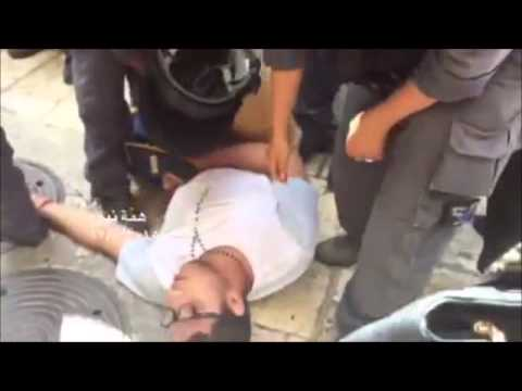 Jewish Man Attacked By An Arab Who Then Fakes Fainting
