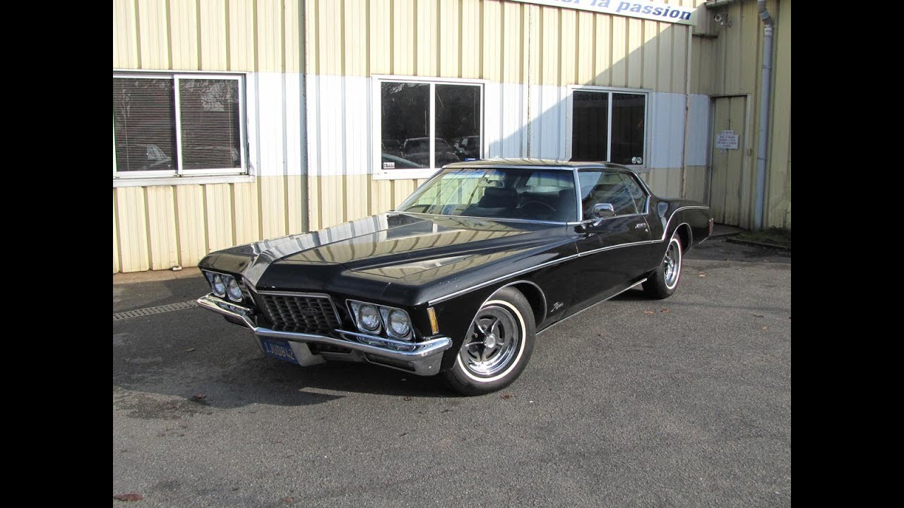 buick riviera 1971 boat tail youtube. Black Bedroom Furniture Sets. Home Design Ideas