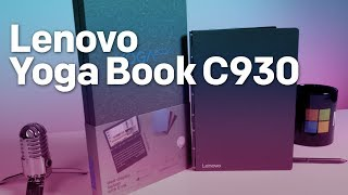 Lenovo Yoga Book C930 hands-on: A futuristic and quirky 2-in-1 with E Ink display
