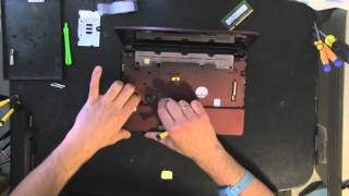 ASUS EeePC 1015PEB laptop netbook take apart video, disassemble, how to open