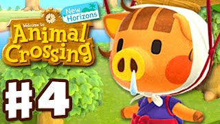 Daisy Mae Sells Turnips! 3 Home Plots! - Animal Crossing: New Horizons - Gameplay Walkthrough Part 4