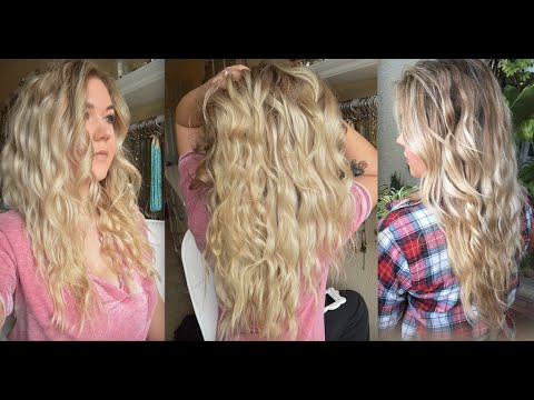 Natural Overnight Beach Waves   NO HEAT REQUIRED