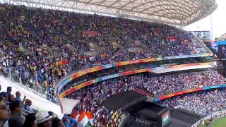 40000 Indian Cricket Fans Singing The National Anthem Ind VS Pak Wc 2015