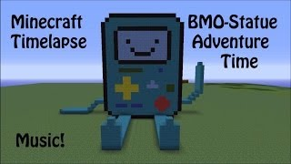 Minecraft BMO-Statue Timelapse (Adventure Time)
