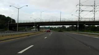 West Shore Expressway (NY 440 Exits 9 to 1) southbound