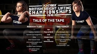 Rebekah Tiler-Emily Godley-Head To Head