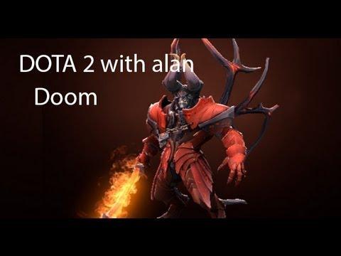 DOTA 2 with Alan: Doombringer