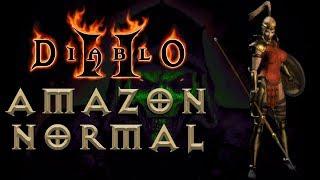#02: Amazon | Normal — Act 2 & Act 3  [Diablo II: Going through Hell]
