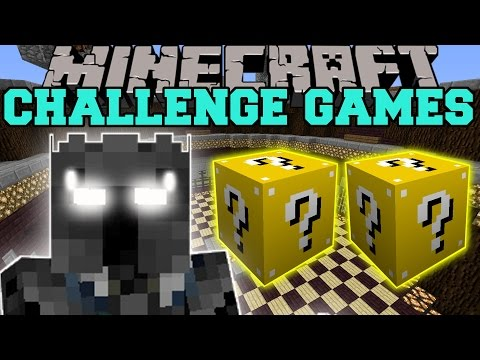 Minecraft: Popularmmos Challenge Games - Lucky Block Mod - Modded Mini-game video