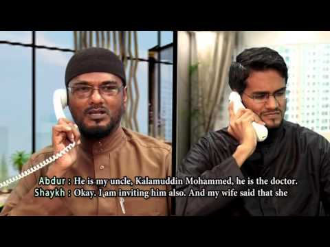 Арабский Диалог-  Приглашение в Гости эпизод 5   Arabic Conversation