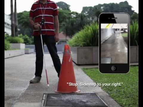 An app that changes the way blind people live