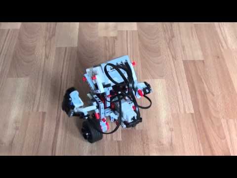 Testing LEGO MINDSTORMS EV3 Gyro Boy (Custom EV3 Program)