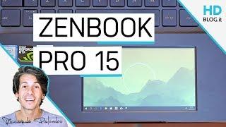 Un DISPLAY nel TOUCHPAD | ASUS ZenBook Pro 15 UX580 con #ScreenPad | RECENSIONE