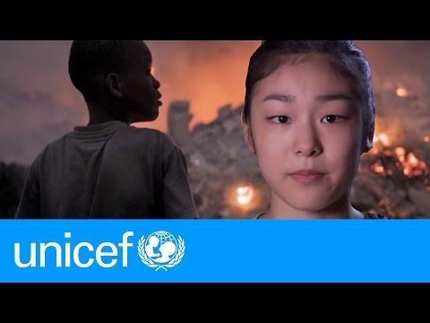 UNICEF: Goodwill Ambassador Yuna Kim thanks Haiti donors