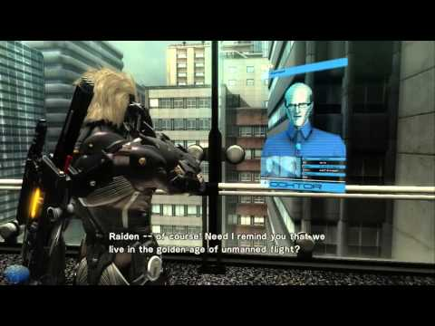 Metal Gear Rising The Movie (Full Plathrough All Cutscenes)