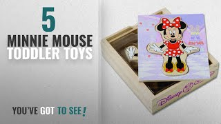 Top 10 Minnie Mouse Toddler Toys [2018]: Melissa & Doug Disney Minnie Mouse Mix and Match Dress-Up