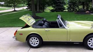 1973 MG Midget - Beautiful Restoration - For sale at www.bluelineclassics.com