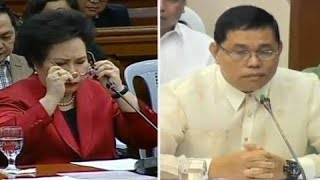 Senator Miriam Santiago Grilled and Soaped Resigned General Allan Purisima, SAF 44, Mamasapano Clash