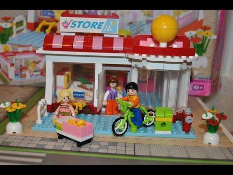 Конструктор Слубан Розовая Мечта - Супермаркет/Constructor Sluban New Girl's Dream - Store