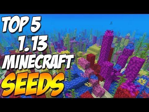 Top 5 Minecraft Seeds 1.13 September 2018