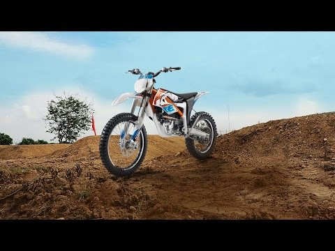 2015 KTM Freeride E - electric dirt bike
