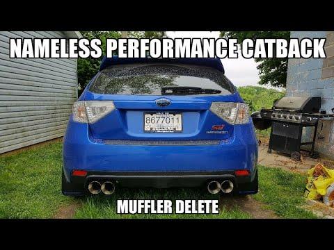 Nameless Performance Catback - 2014 Subaru Impreza WRX STi (CAR SOUNDS BADASS AND LOUD!)