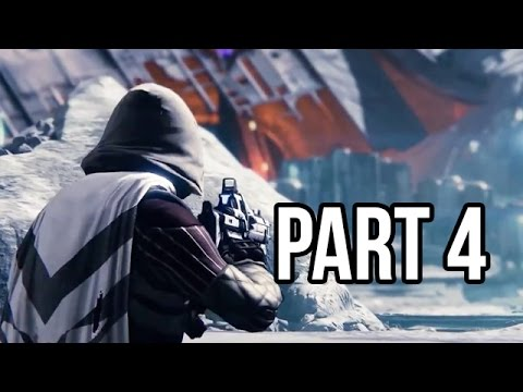 Destiny Gameplay Walkthrough - Part 4 Beta - Campaign Mission 4 (PS4/XB1 1080p HD)
