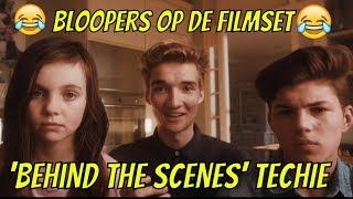 Op de filmset met Gio, Hanwe en Vincent - Behind the Scenes Techie en Bloopers - Bibi