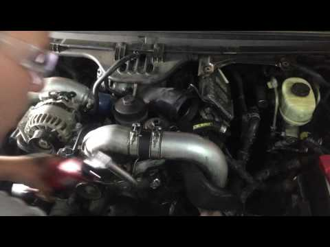 6.0 Powerstroke head removal cab on. tips and tricks