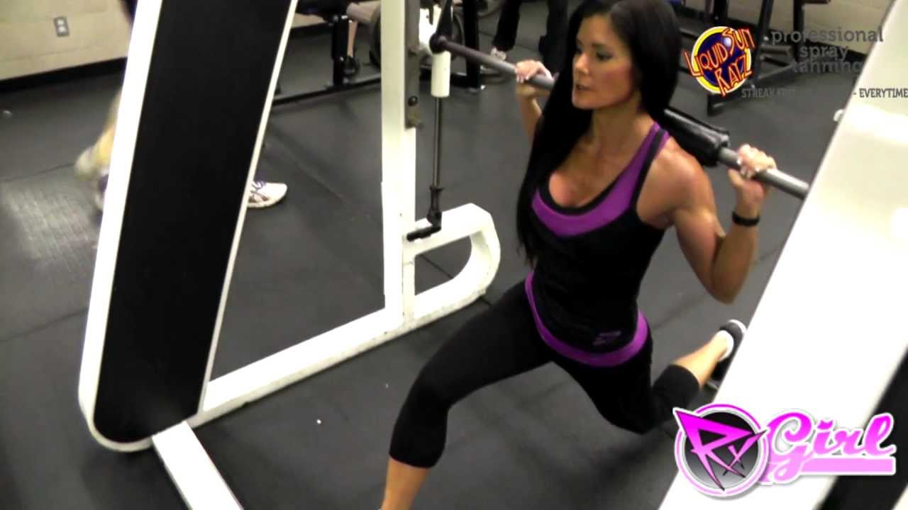 lunges with smith machine