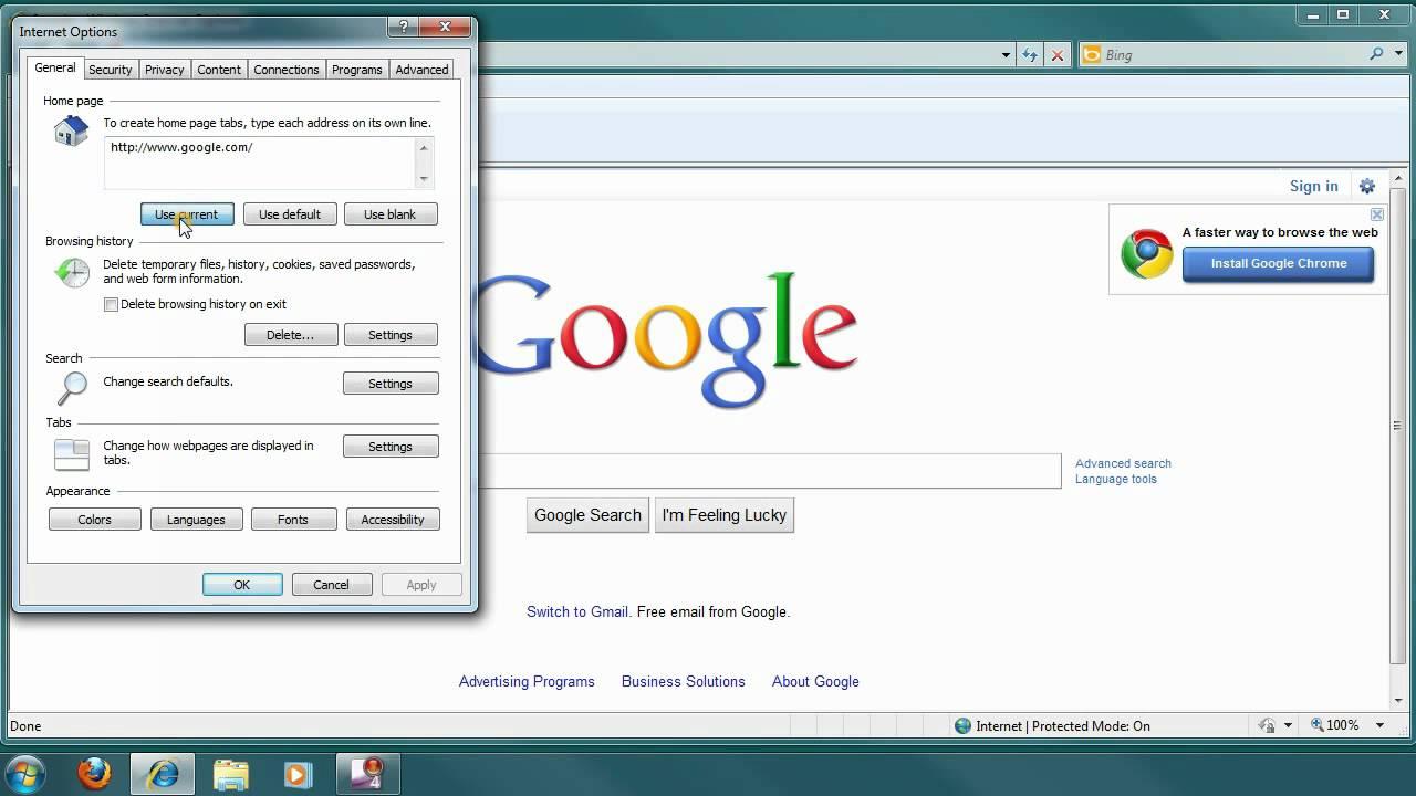 Make Google Your Homepage Youtube
