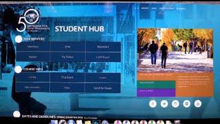 New Online Student Hub