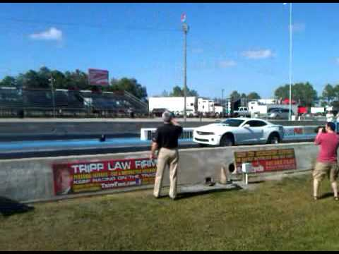 COPO Camaro First Drag Pass