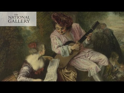 Jean-Antoine Watteau's 'The Scale of Love' | #PaintedLovers | The National Gallery, London