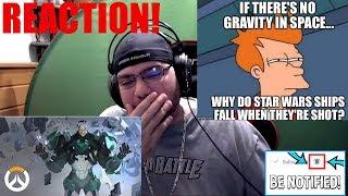 Sigma Origin Story | Overwatch reaction