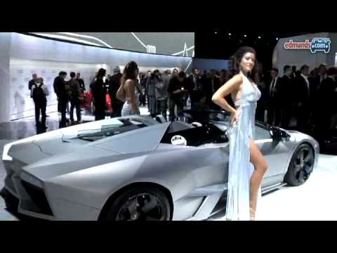 Topless Lambo: Lamborghini Reventon Roadster @ 2009 FAS Video
