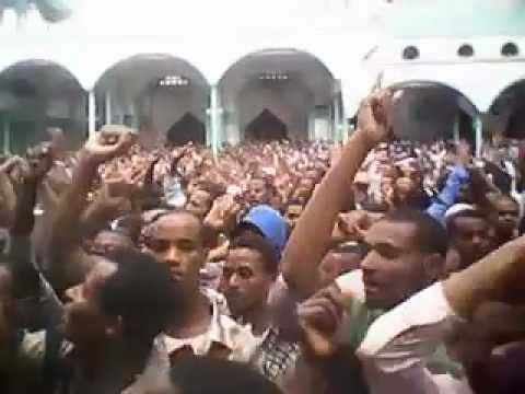 Youtube - Demonstration of Anti-Ahbashizm Anwar Mosque Addisababa.