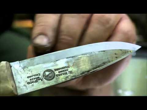 Ray Mears - How to sharpen a knife at camp, Bushcraft Survival Music Videos