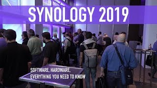Synology 2019: NAS Units, Mesh Routers, Software, Etc. | Full Event Coverage