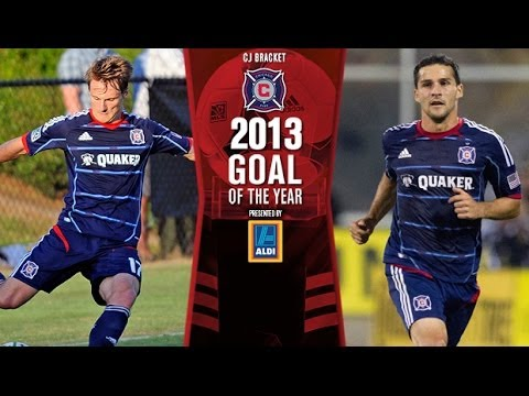 2013 Aldi Goal of the Year | Day 9: Chris Rolfe's golazo vs. Dilly Duka's deflection