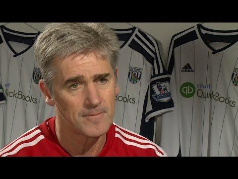 Alan Irvine previews Premier League clash between West Bromwich Albion & Arsenal