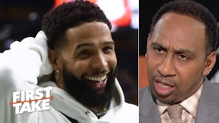 Odell Beckham Jr. didn't commit a crime, the NCAA is 'bogus!' – Stephen A. | First Take