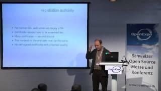 Dr. Dieter Hennig: SSL-Zertifikate in der betriebsinternen Kommunikation der ETH Zürich