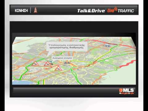 MLS Destinator Talk&Drive liveTRAFFIC