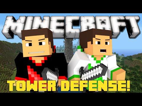 Minecraft: Tower Defense - SUPER FUN!