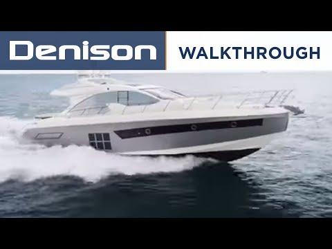 Azimut 55S Yacht [Walkthrough]