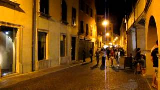 Udine (Italy) in night
