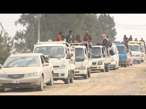 Families return home in parts of Iraq's Anbar province