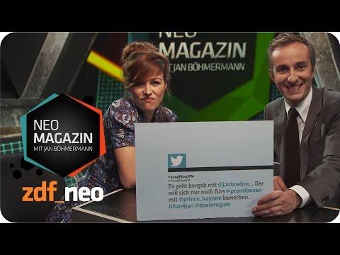 Die große Kommentare-kommentier-Show mit Katrin Bauerfeind und Jan Böhmermann - NEO MAGAZIN - ZDFneo